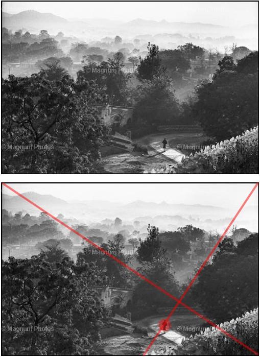 从布列松的作品中学构图