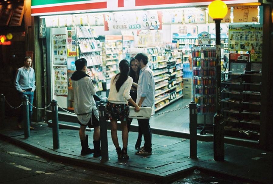 柔缓的香港