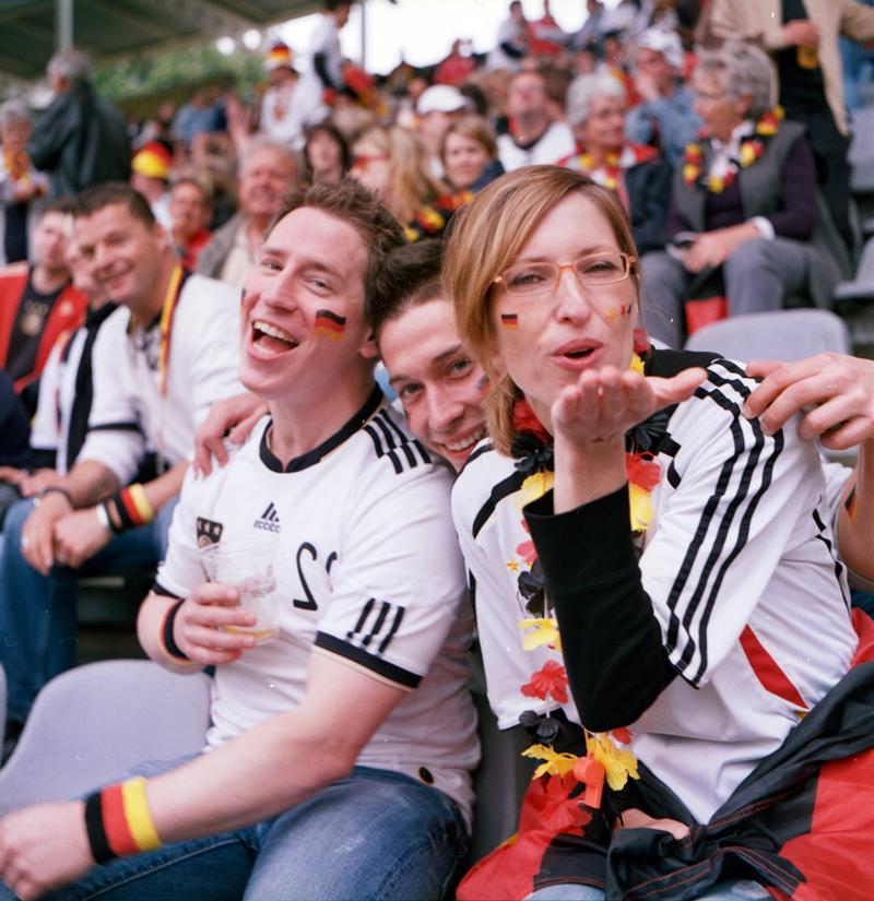 在德国看世界杯