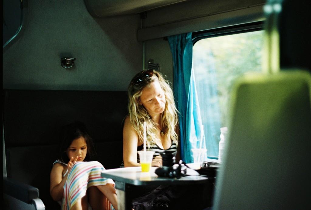火车上遇到的小天使们