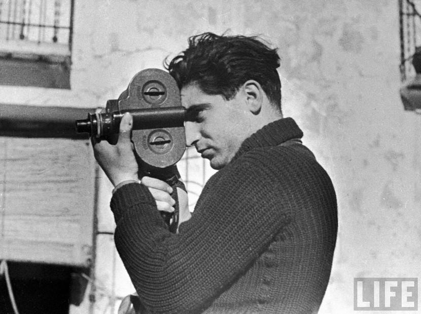 Robert Capa︰如果你的照片不够好,是因为你不够近