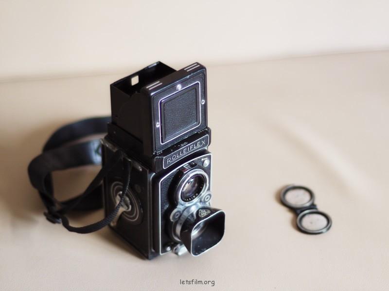 近六十年的老双眼 - Rolleiflex MX Xenar 75/3.5