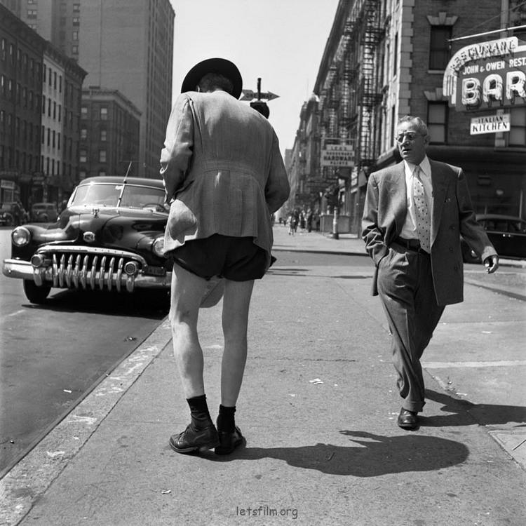 神秘的街头摄影师 Vivian Maier