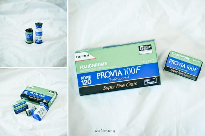 Fujichrome Provia100F
