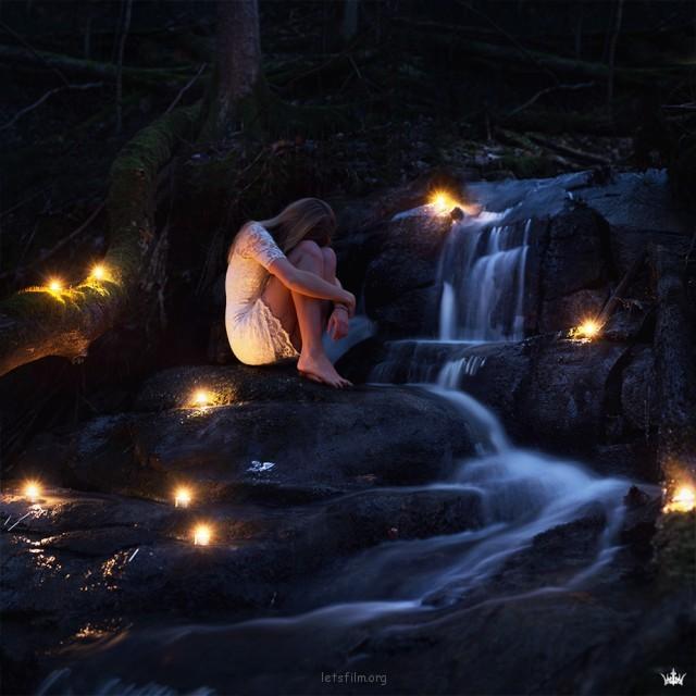 Vilde Indrehus的超现实摄影作品