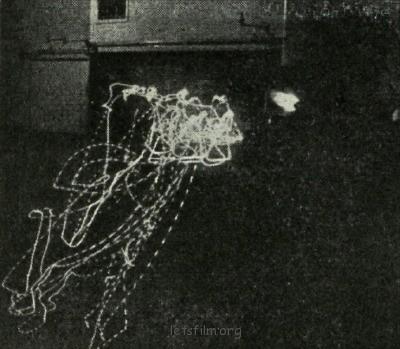 世上最早期的光涂鸦作品