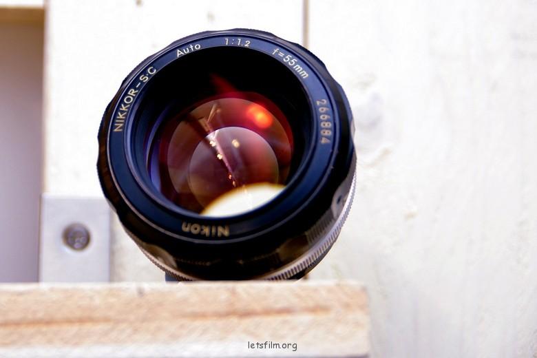 大眼睛的妖媚 Nikkor 55mm f/1.2