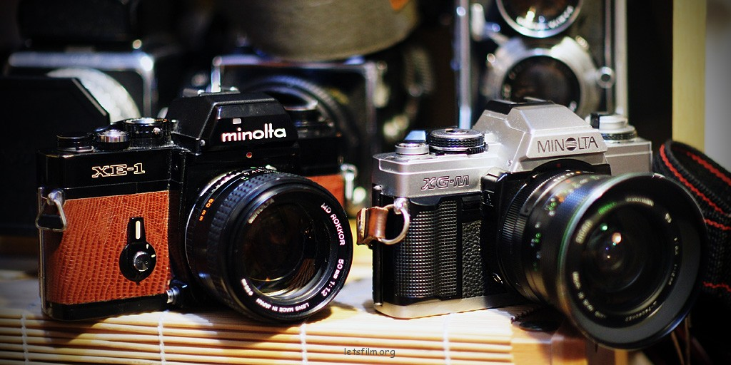 Minolta XE-1 & XG-M