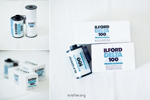ILFORD DELTA 100 Professional