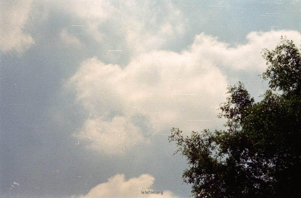 仰望天空 世界如此美好