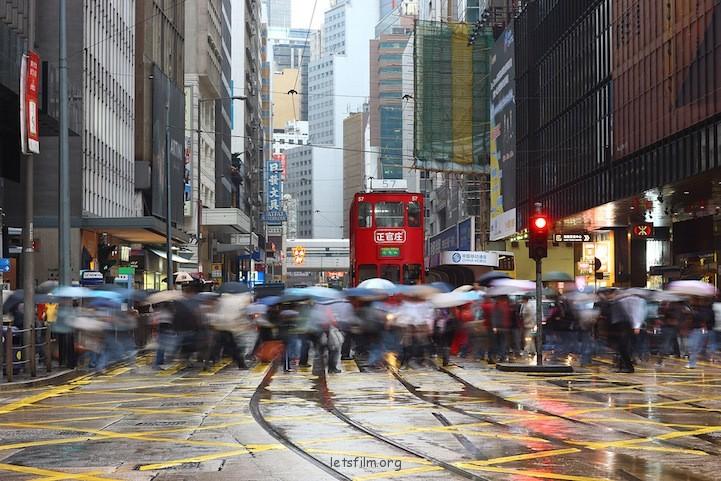 慢门下的香港脉搏