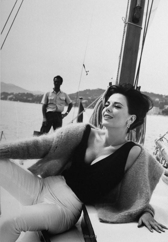 戛纳电影节的老照片-1962