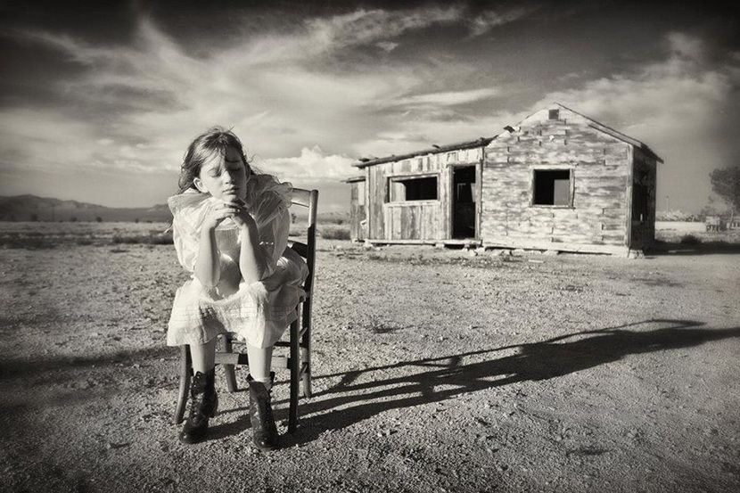 重塑童年的摄影作品