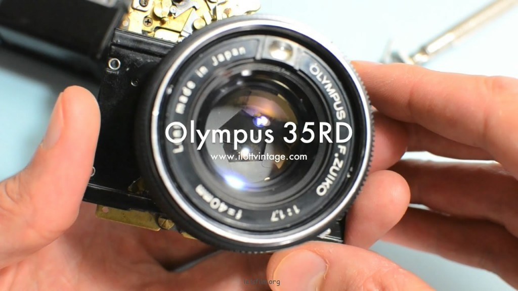 机械之美——Olympus 35RD