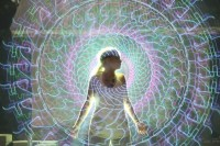 光影涂鸦示范及传感器原理