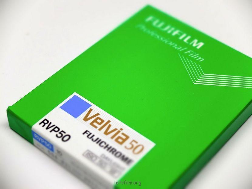 最后的富士Velvia 50 8X10