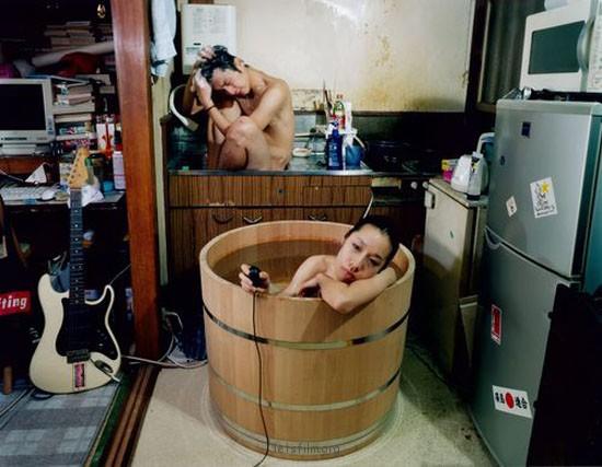 在哪里都要泡澡