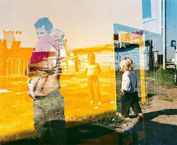 Tierney Gearon的双重曝光艺术摄影
