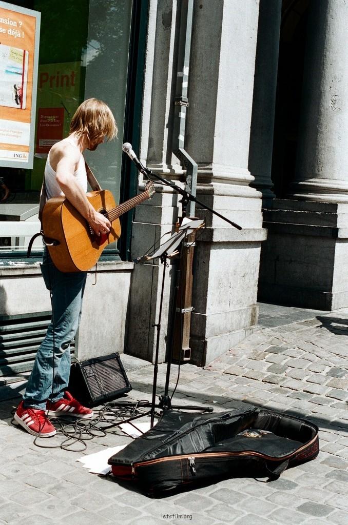 在歐洲尋找音樂流浪地圖