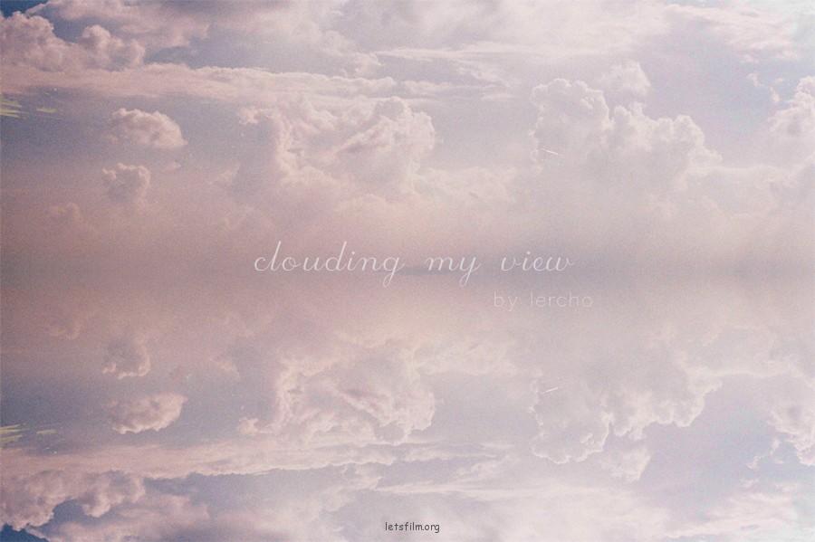 以云遮蔽我的视线