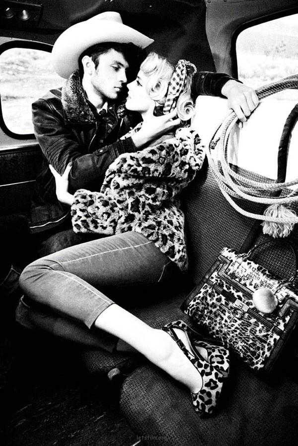 复古黑白时尚摄影