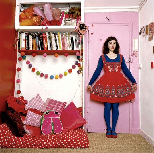 法国摄影师Baudouin《 I am a parisian lady 》