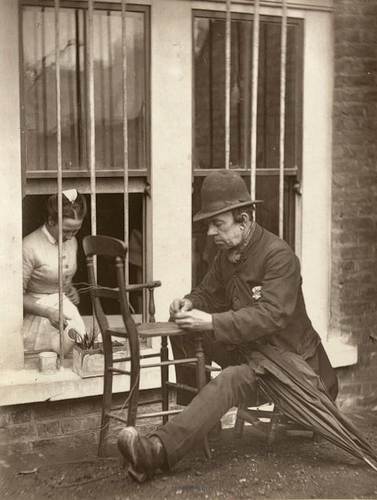 十九世纪的伦敦街头摄影