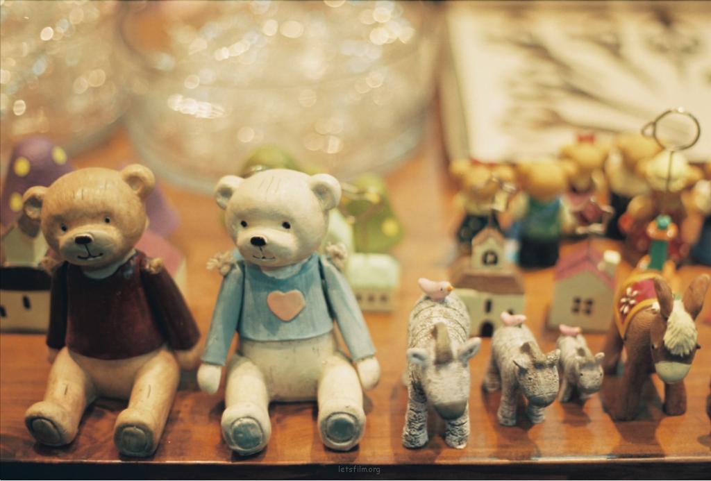 橱窗里的童话