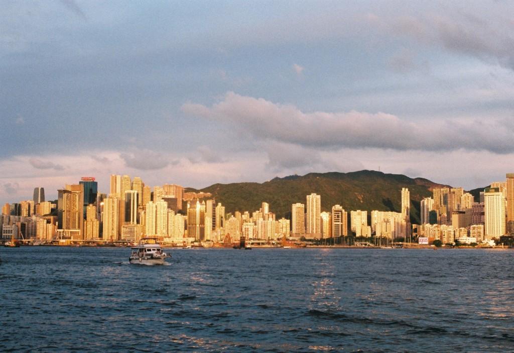 夏日里的hongkong