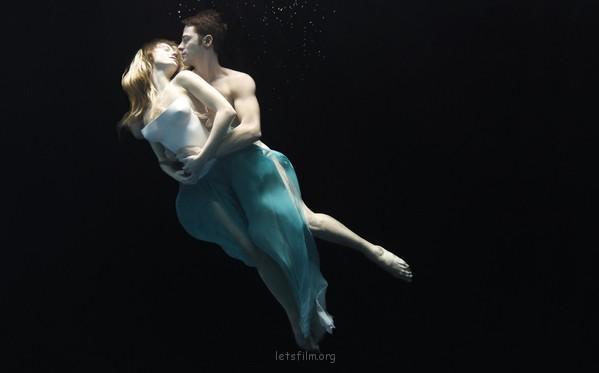 精彩唯美的水中芭蕾