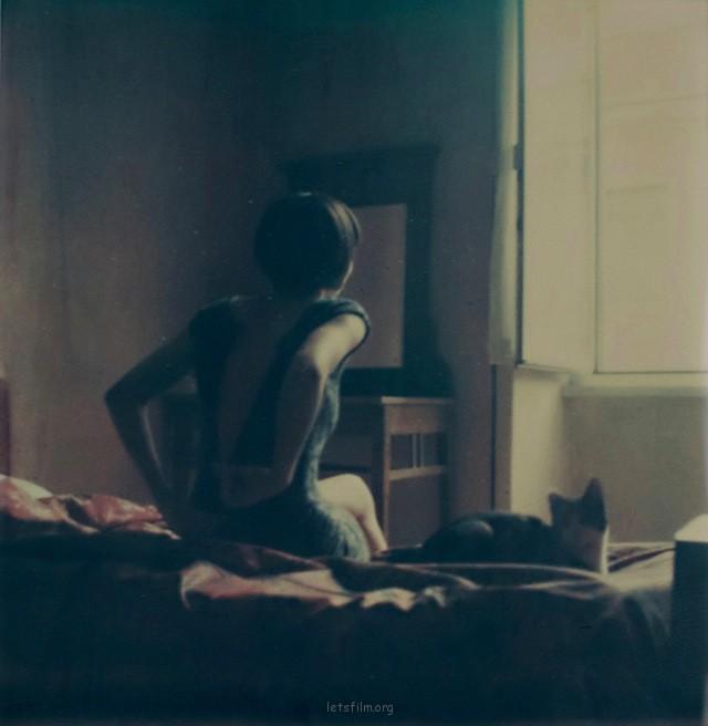 亲密激情的拍立得摄影作品– Anna Morosini