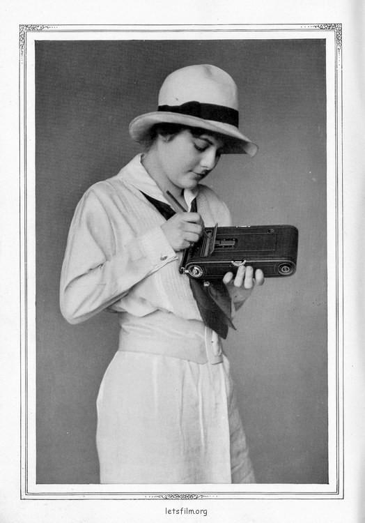 100年前,Kodak 相机让你在底片上写EXIF