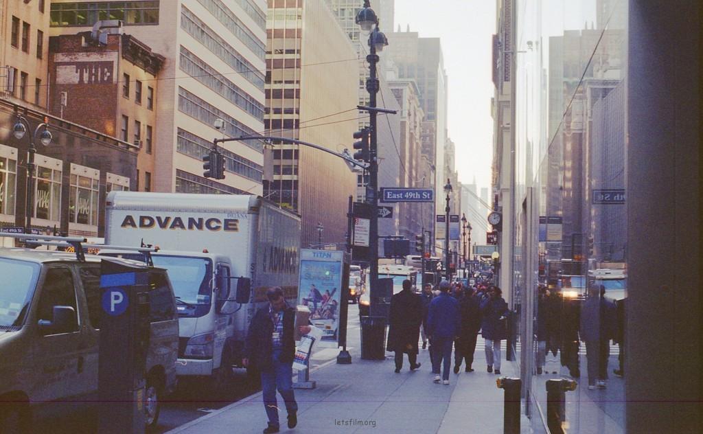 走路去纽约
