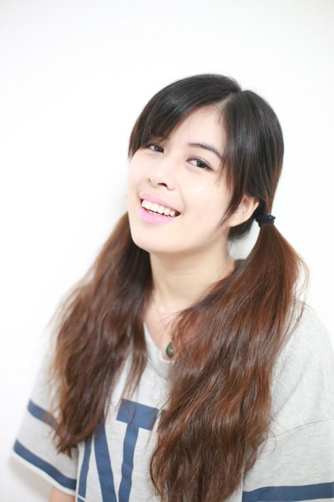 镜面照の《微笑》