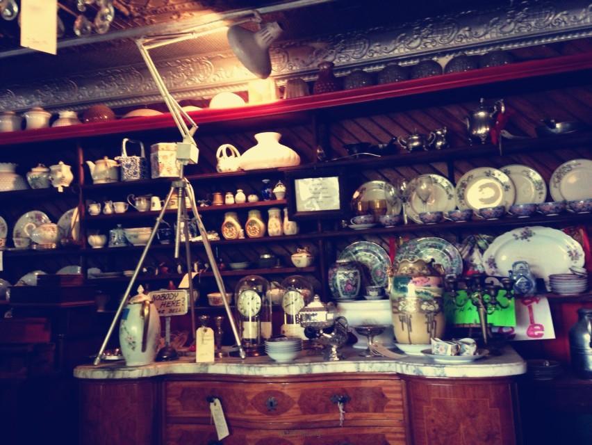 懷舊古老杂物铺