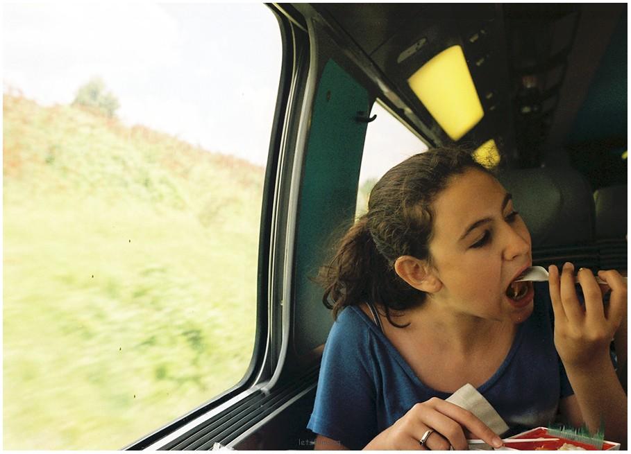 在路上-火车
