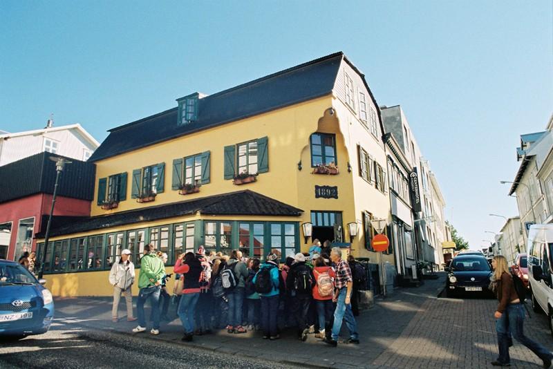 Ísland . Reykjavík
