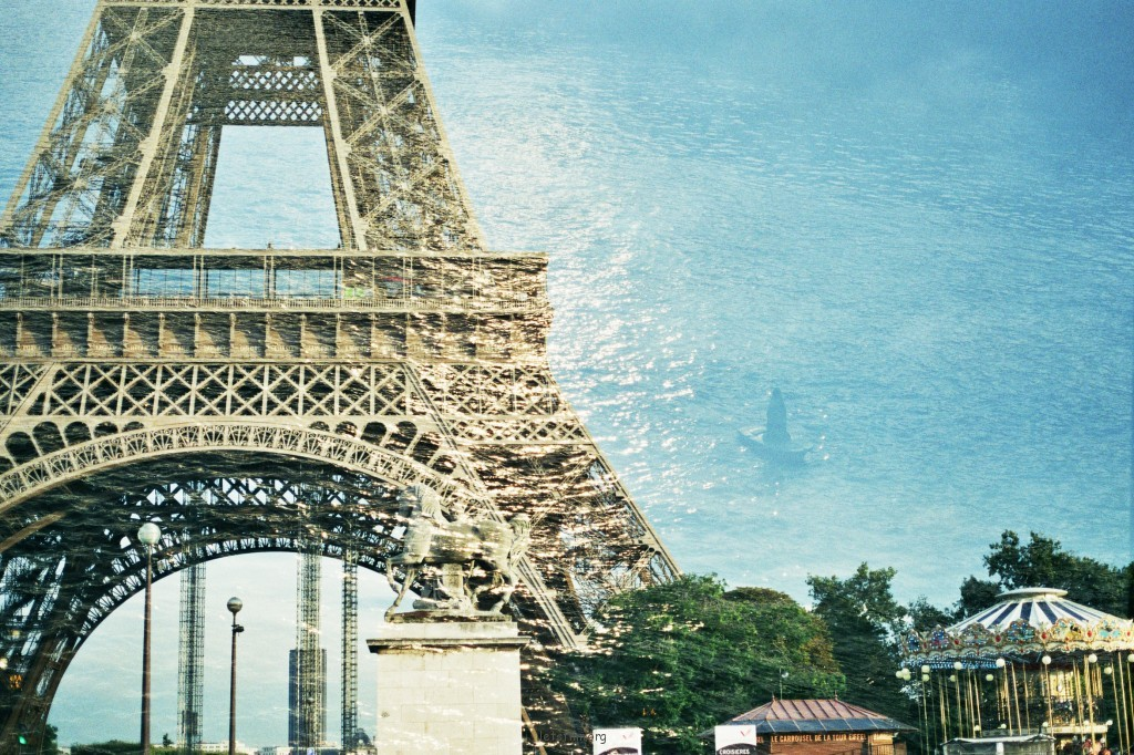 枕著艾菲爾墜入巴黎的甜夢裏