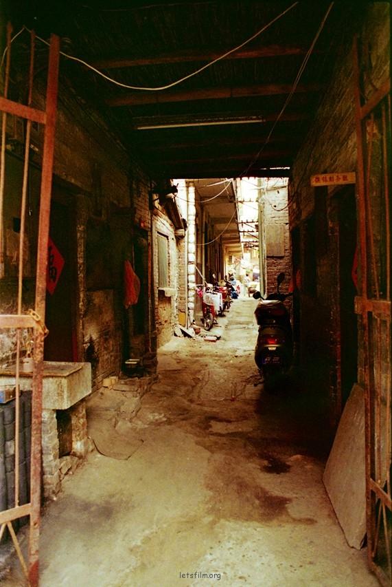 洛阳丽景门附近的一条小巷子