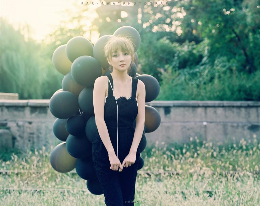 带着气球去旅行