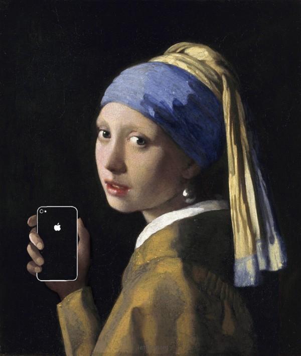如果手機在一百年前就滿天飛,畫出來的話會是這樣3-600x709
