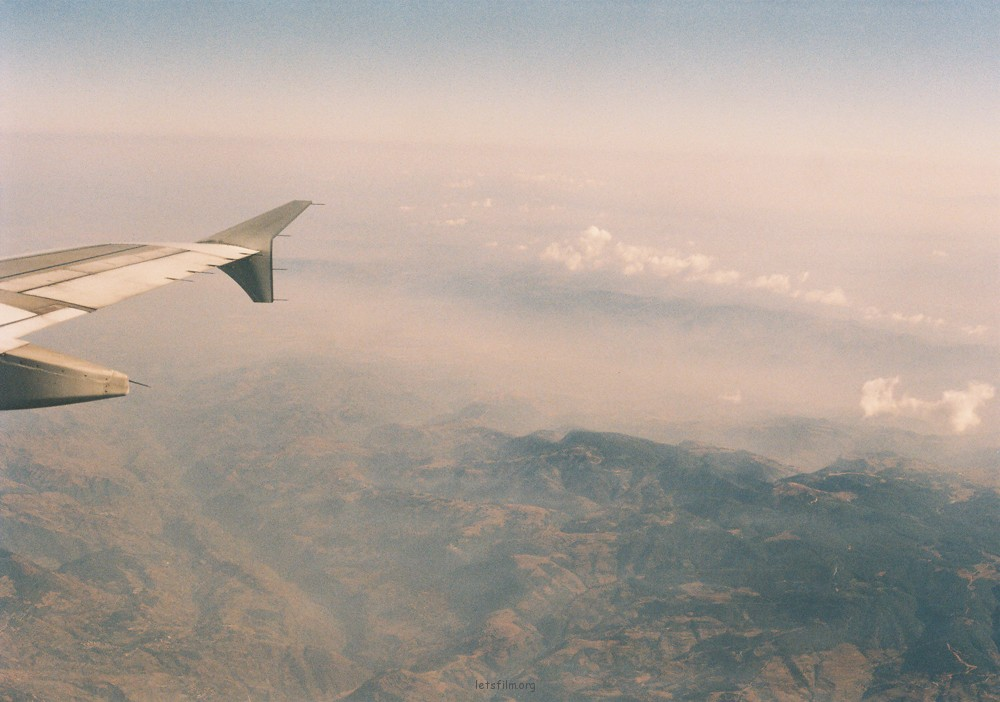 第一次的飞机飞向云南,第一次朋友们的长途旅行