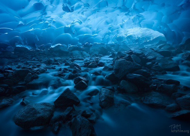 (5) Mendenhall Ice Caves - Juneau, Alaska Photo by Kent Mearig