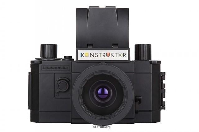Konstruktor DIY相机套组,内含一支50mm F10的标准镜头