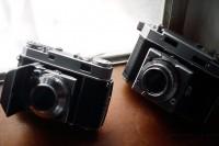 Ansco Karomat & Kodak Retina IIa