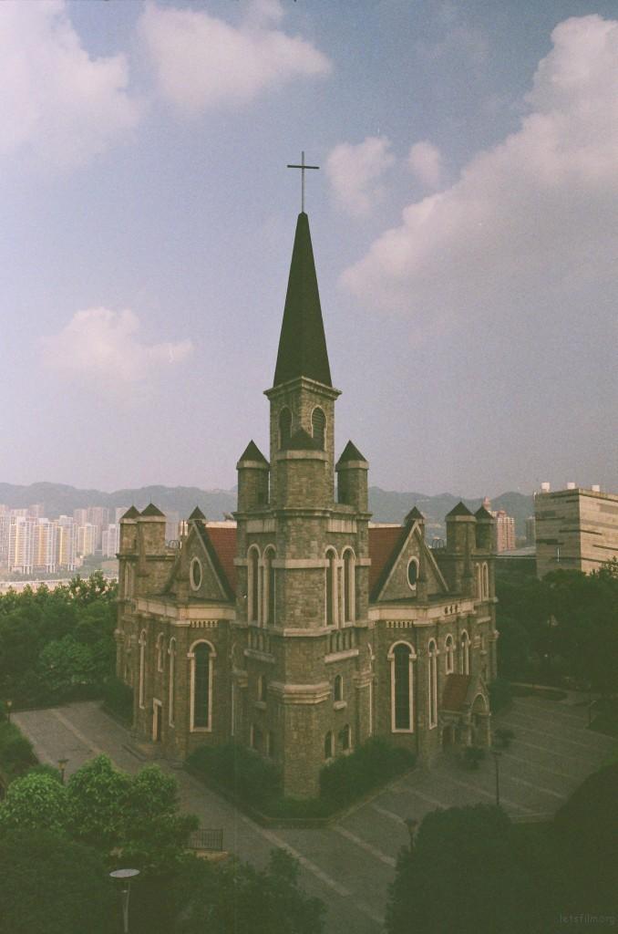 江北中心公园教堂