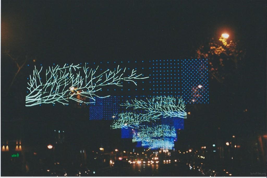 VELAZQUEZ大街上的彩灯