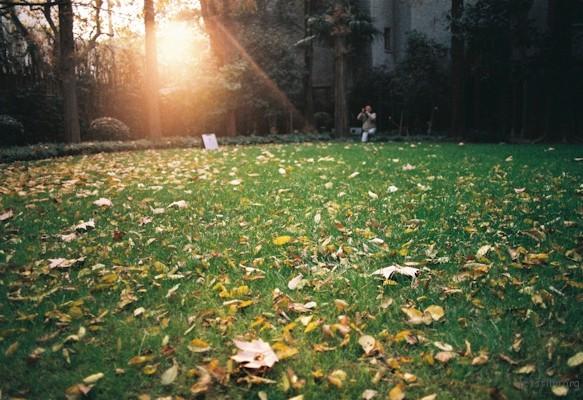 巴金家的后花园