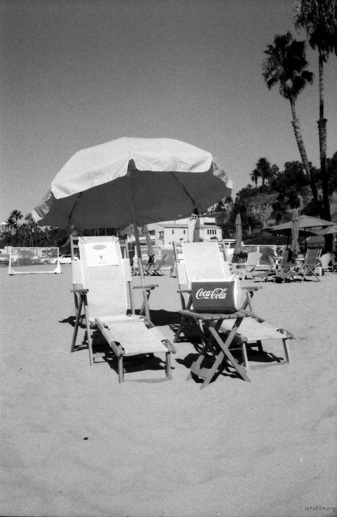 santa monica beach-nicole