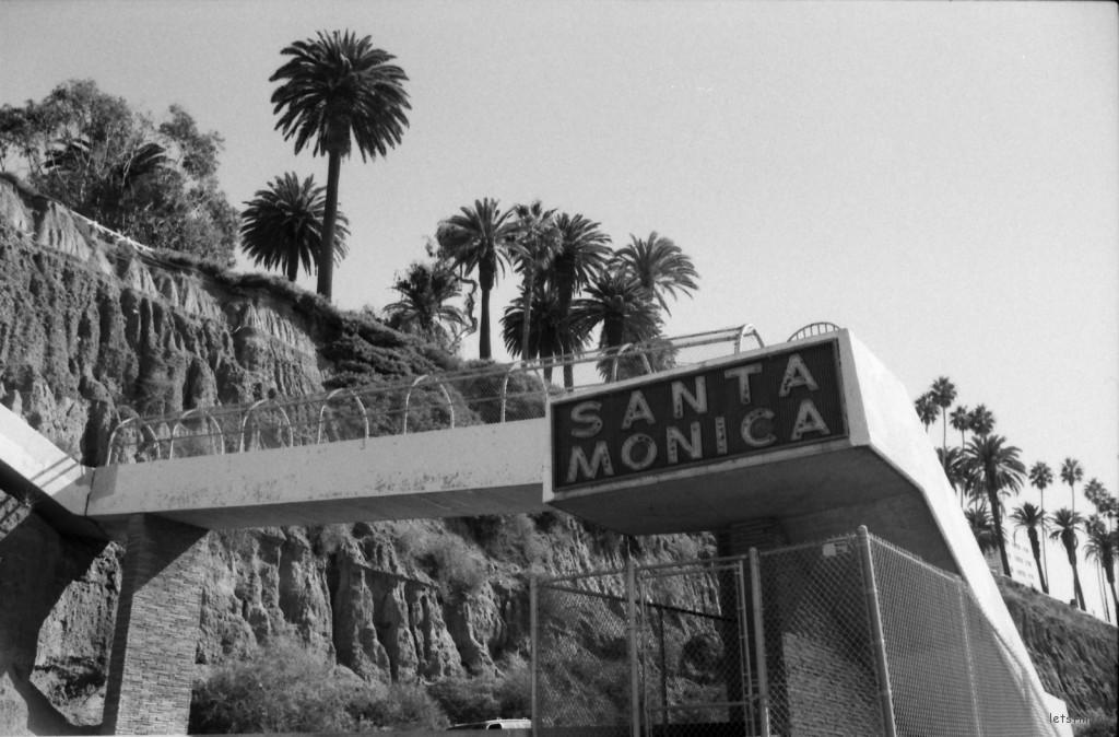 santa monica bridge-nicole